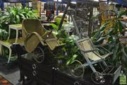 Sale 8307 - Lot 1021 - Vintage Seagrass Pram Together with Vintage Example