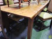 Sale 8447 - Lot 1037 - Pine Refractory Table (H 77cm x L 305cm x W 89cm)