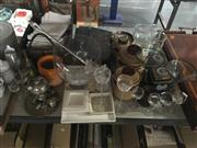 Sale 8759 - Lot 2414 - Collection of Sundries incl Glass & Crystalwares, Storage Jars etc