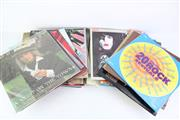 Sale 8823M - Lot 77 - Box Of Records Incl Rod Stewart And Billy Joel