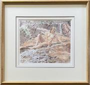 Sale 9044J - Lot 85 - Max Middleton - Nude 25x30cm