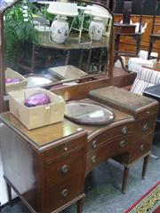 Sale 7933A - Lot 1145 - Raised Mirrored Back Dressing Table