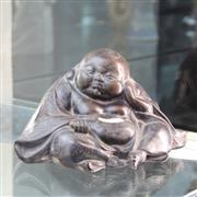 Sale 8362 - Lot 1 - Buddha Figure Concealing Erotic Base