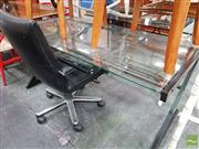Sale 8455 - Lot 1052 - Modern Desk and Chair