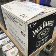 Sale 8801W - Lot 11 - 12x Jack Daniels Old No.7 Tennessee Whiskey, 700ml