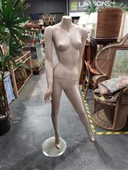 Sale 9017 - Lot 1020 - Large Dress Mannequin on Stand