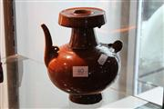 Sale 8014 - Lot 40 - Brown Chinese Teapot