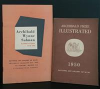 Sale 8176A - Lot 98 - Two Catalogues, Archibald Wynne Sulman Competitions 1949 & Archibald Prize 1950