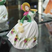 Sale 8336 - Lot 26 - Royal Albert Figure Rose