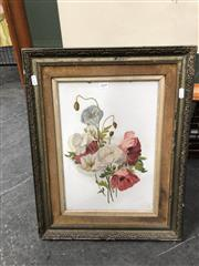 Sale 8819 - Lot 2049 - An Early C20th Botanical Still Life by Unknown Artist, 54 x 42cm (frame)