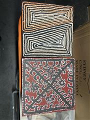 Sale 8981 - Lot 2088 - 2 Aboriginal Paintings on canvas by Freddy Purla & Tjakorgku, 30x30cm