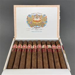Sale 9120W - Lot 1426 - H. Upmann Royal Robusto Cuban Cigars - box of 10 cigars, dated March 2017