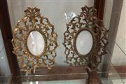 Sale 7977 - Lot 82 - Pair of Ornate Brass Frames