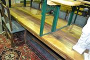 Sale 8093 - Lot 1441 - Provincial Stretcher Base Farmhouse Table (290cm)