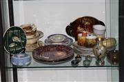 Sale 8160 - Lot 83 - Martin Boyd Cabinet Plate with Other Ceramics incl. Wedgwood Jasper Ware