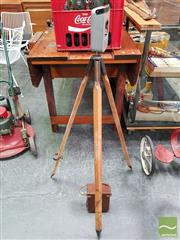 Sale 8493 - Lot 1034 - Cowley Automatic Level on Tripod