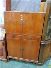 Sale 8566 - Lot 1396 - Timber Cocktail Cabinet