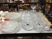 Sale 8659 - Lot 2243 - Collection of Crystal Wares incl. Melbas, Bowls, Platters, etc