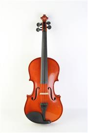 Sale 8783 - Lot 46 - Cased Violin