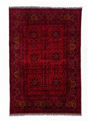 Sale 8800C - Lot 74 - An Afghan Khal Mohammadi 100% Wool Pile Natural Dyes, 172 x 242cm