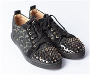 Sale 8891F - Lot 65 - A pair of Christian Louboutin stud sneakers, size 37