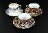 Sale 3803 - Lot 665 - THREE 19TH CENTURY ENGLISH CUPS AND SAUCERS