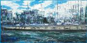 Sale 8549 - Lot 584 - Bruno Dutot (1962 - ) - Le Park 123 x 244cm