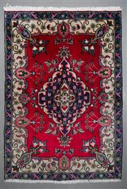 Sale 8545C - Lot 34 - Persian Tabriz 140cm x 95cm