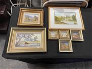 Sale 8981 - Lot 2049 - Group of (7) Australiana Paintings of Country NSW by Jack White, Jack Ryde, Una Plumb, Dorothy Hegarty and Margaret Lee