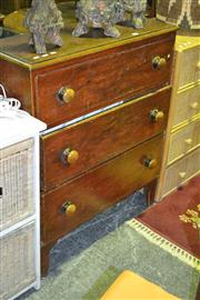 Sale 8165 - Lot 1033 - 3 Drawer Chest