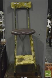 Sale 8368 - Lot 1052 - Machinists Stool