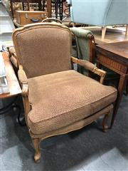 Sale 8854 - Lot 1098 - Pair of French Upholstered Armchairs