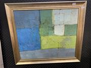 Sale 9008 - Lot 2020 - Attributed to Francis (Ferrier) Woolley (1930 - ) - Untitled 44.5 x 52.5 cm (frame: 55 x 63 x 3cm)