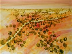 Sale 9093A - Lot 5037 - Terry Watts (1934 - ) - Outback Roads 45 x 60 cm (frame: 70 x 83 x 3 cm)