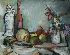 Sale 3811 - Lot 54 - PAUL HAEFLIGER (1914-1982) - Still Life signed upper right: Haefliger