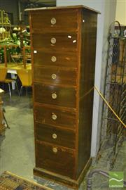 Sale 8227 - Lot 1046 - Tall Chest of 8 Drawers