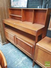 Sale 8451 - Lot 1076 - McIntosh Fitted Sideboard with High back