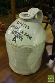 Sale 8499 - Lot 1069 - Elliots Demijohn