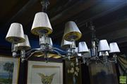 Sale 8530 - Lot 2408 - Pair of Hanging Light Fittings