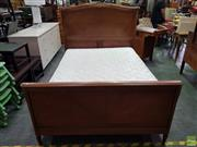 Sale 8589 - Lot 1087 - French Bed Frame with Ormolu Mounts