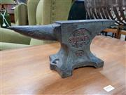 Sale 8741 - Lot 1057 - BK Sydney Antique Blacksmiths Anvil