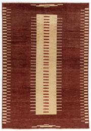 Sale 8800C - Lot 77 - A Striped Afghan Gabbeh Floor Rug, Hand Knotted With Natural Dyes, 179 x 262cm