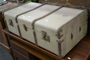 Sale 7987A - Lot 1216 - Vintage Shipping Trunk