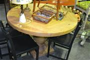 Sale 8134 - Lot 1038A - French Farmhouse Round Dining table