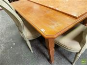Sale 8465 - Lot 1610 - Timber Dining Table