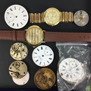 Sale 8648A - Lot 180 - Collection Of Watches And Watch Parts