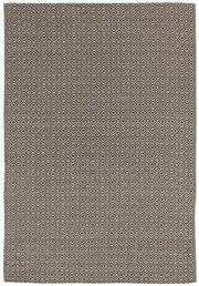 Sale 8651C - Lot 86 - Colorscope Collection; Flatweave Woven Leather/Wool Choc/Diamonds Rug, Origin: India, Size: 160 x 230cm, RRP: $899