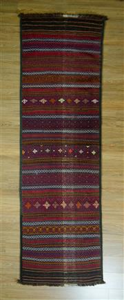 Sale 8672C - Lot 74 - Turkish Kilim Runner 271cm x 89cm