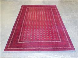 Sale 9102 - Lot 1101 - Pure wool hand knotted Persian Bokhara (203cm)