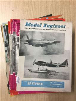 Sale 9152 - Lot 2366 - Collection of Aircraft & Cricket Magazines